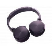Maxell bežične sklopive slušalice, crne, mikrofon