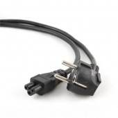 Gembird Power cord (C5), VDE approved, 3m