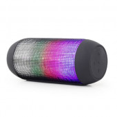 Gembird Bluetooth speaker with LED light effects, black