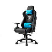 Sharkoon Skiller SGS4, igraća stolica, crno-plava