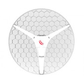 Mikrotik RBLHG-5HPnD-XL (LHG XL HP5), 27dBi 5GHz antena, Dual Chain High Power 802.11an, 600MHz CPU, 64MB RAM, 1x LAN, POE, P