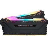 CORSAIR VENGEANCE RGB PRO 16GB (2 x 8GB) DDR4 DRAM 3000MHz C15 Memory Kit — Black