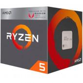 AMD Ryzen 5  2400G, 4C/8T, 3.6GHz RX VEGA,box, AM4