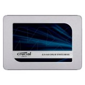 "CRUCIAL MX500 500GB SSD, 2.5"" 7mm (with 9.5mm adapter), SATA 6 Gbit/s, Read/Write: 560 MB/s / 510 MB"