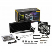 Corsair Hydro Series, H115i PRO, 280mm Radiator, Advanced RGB Lighting and Fan Control with Software