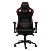 Gaming chair, PU leather, Cold molded foam, Metal Frame , Frog mechanism, 90-165 dgree, 4D armrest,