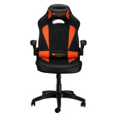 Gaming chair, PU leather, Original and Reprocess foam, Wood Frame, Butterfly mechanism, up and down
