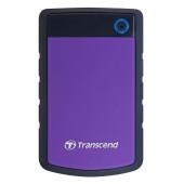 Transcend 1TB StoreJet 2.5'' H3P, Portable HDD USB 3.1 Gen 1 USB Type-A purple, EAN: 0760557820109
