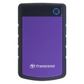 Transcend 2TB StoreJet 2.5'' H3P, Portable HDD USB 3.1 Gen 1 USB Type-A purple, EAN: 0760557827009