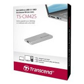 TRANSCEND M.2 2242, USB3.1 SSD Enclosure Kit, Silver
