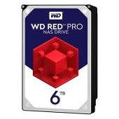 HDD Desktop WD Red Pro (3.5'', 6TB, 256MB, 7200 RPM, SATA 6 Gb/s)