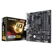 GIGABYTE Main Board Desktop AMD B350 (SAM4, 4xDDR4, Realtek ALC887, 1x10/100/1000 Mbit, 1xPCIEX16, 1