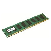 Crucial RAM 4GB DDR3L 1600 MT/s (PC3L-12800) CL11 Unbuffered UDIMM 240pin 1.35V/1.5V Single Ranked