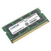 Crucial RAM 8GB DDR3 1600 MT/s  (PC3-12800) CL11 SODIMM 204pin 1.35V/1.5V