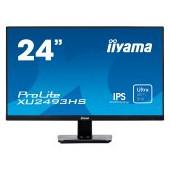 "IIYAMA Monitor Prolite, 24"" ETE, ULTRA SLIM LINE, 1920x1080, IPS-panel, 4ms, 250cd/m², Speakers, VGA"