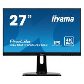 "IIYAMA Monitor Prolite, 27"" ETE, ULTRA SLIM LINE, 3840x2160 UHD, IPS, 4ms, 13cm height adj. stand, 3"