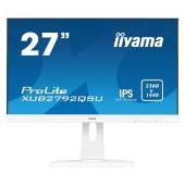 "IIYAMA Monitor Prolite, 27"" WHITE, ETE ULTRA SLIM LINE, 2560x1440 WQHD, IPS, 5ms,  FreeSync, 13cm he"