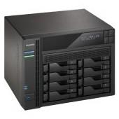 ASUSTOR 8-Bay NAS w/HDMI, Celeron J3150, 2GB DDR3 (max 8GB), RAID 0/1/JBOD+single disk, GbE x 4, 3x