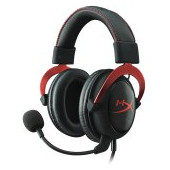 Kingston HyperX Gaming Headset, Cloud II Pro, red, 53mm drivers, USB/3.5mm jack, noise-cancellation