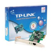 NIC TP-Link TG-3468, 32-bit Gigabit PCIe Network Adapter, Realtek RTL8168B, 10/100/1000Mbps RJ45 por
