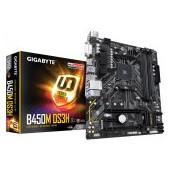 Gigabyte B450M DS3H AMD B450, AM4, 4xDDR4, DVI-D/HDMI, 2xPCIe x16, 1xPCIe x1, 1xM.2, 4xSATA, mATX
