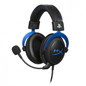 Kingston HyperX Gaming Headset, Cloud Blue for PS4, blue, 53mm drivers, 3.5mm jack, noise-cancellati
