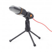 Gembird Desktop microphone with a tripod, black