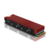 AXAGON CLR-M2 pasivni hladnjak za - M.2 SSD, 80mm SSD