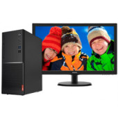 "Lenovo V520 Tower, Intel i3-7100, 4GB DDR4, 256GB SSD, DVDRW, Win 10 Pro, tipkovnica/miš + Philips 22"" 223V5LSB2 FHD monitor"