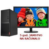 "Lenovo V520 Tower, Intel i3-7100, 8GB DDR4, 256GB SSD, DVDRW, Windows 10 Pro 64-bit + tipkovnica/miš + Philips 22"" 223V5LSB2"
