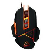 CANYON Optical gaming mouse, adjustable DPI setting 800/1000/1200/1600/2400/3200/4800/6400, LED back