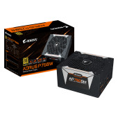 GIGABYTE GAMING AORUS P750W Power Supply 750W, Fully Modular, 80+ Gold, Japanese capacitors, 135mm D