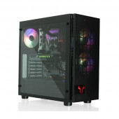 Riotoro Mid Tower ATX Case with Tempered Glass