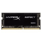 Kingston DRAM 16GB 2666MHz DDR4 CL15 SODIMM HyperX Impact EAN: 740617265385