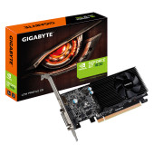 GIGABYTE Video Card NVidia GeForce GT 1030 GDDR5 2GB/64bit, 1227MHz/6008MHz, PCI-E 3.0 x16, HDMI, DV