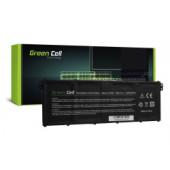 Green Cell (AC62) baterija 3200 mAh, 15.2V  Acer Aspire 5 A515 A517 E15 ES1-512 ES1-533 R5-571T V3-372 Nitro 5 AN515-51