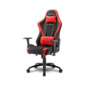 Sharkoon Skiller SGS2, igraća stolica, crno-crvena