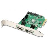 AXAGON PCES-SH4 PCIe 2-Lane Controller 4x Int./2x Ext. SATA 6G