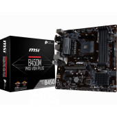 MSI B450M PRO-VDH PLUS, AM4, DDR4, U3, m.2, mATX