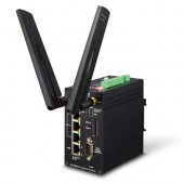 Planet Industrial 4G LTE Cellular Gateway with 4-Port 10 100TX