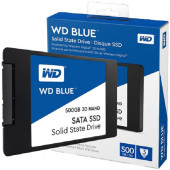 "WD Blue 3D NAND SSD 500GB, 2,5"", 7mm, R560/W530"