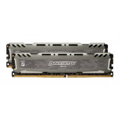 Ballistix Sport LT Gray 16GB Kit (2 x 8GB) DDR4 3000MHz