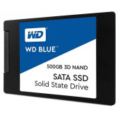 Western Digital 500GB SSD, Blue 3D, SATA